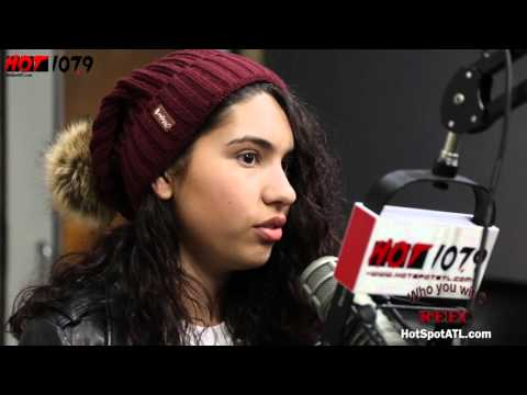 Alessia Cara talks, tour, Signing with Def Jam & fan love with Reec on Hot 107.9!!!