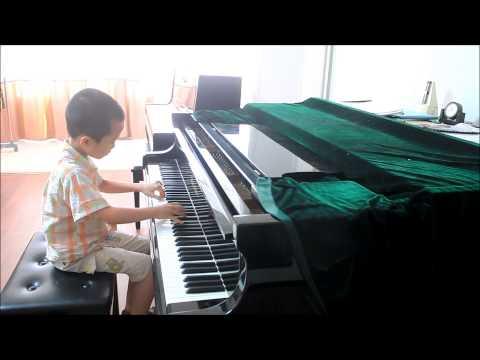 Huang Tiange Plays Bartok Mikrokosmos Vol. 4 No. 116