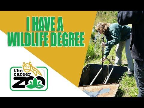 I have a WILDLIFE degree