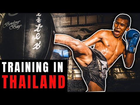 A Day In The Life | Muay Thai Training Camp in Thailand at Khongsittha Gym