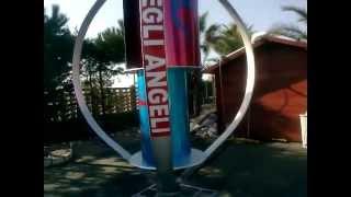 Вертикальный ветрогенератор 3000W(Вертикальный ветрогенератор 3000W. размер 3.5х3.5метра http://manblan.ru., 2013-04-09T16:14:03.000Z)