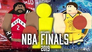 ROBLOX: NBA Finals 2019 ™ Gameplay With LukeGabriel Added New Sleeves!