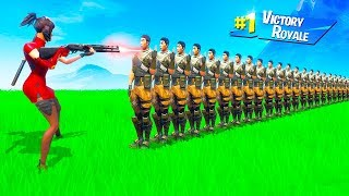 HOW MANY PLAYERS Can 1 SHOT Eliminate in Fortnite Battle Royale (Season 9)