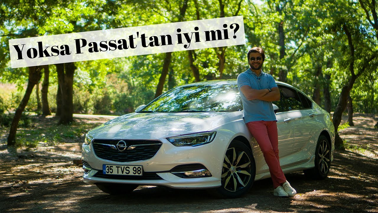 Opel Insignia Grand Sport Test Surusu Youtube
