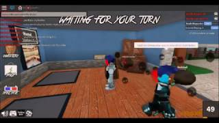 Playing Murder Mystery With My Brother On Roblox
