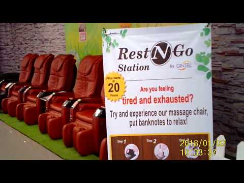 SM Telebastagon  massage  chairs are  really  good  and  relaxing