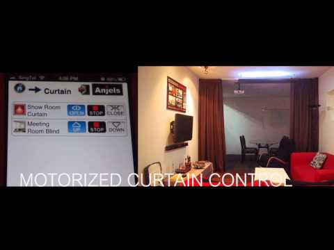 Anjels Wireless Home Automation -- Motorized Curtain
