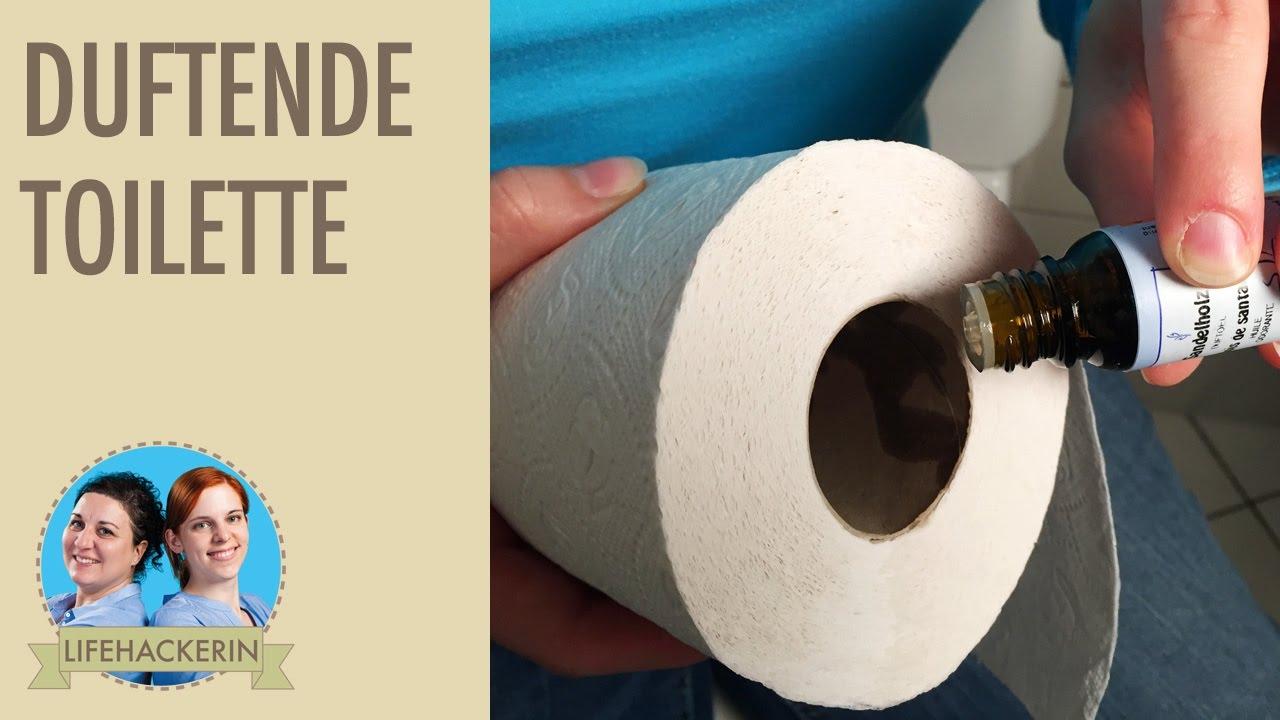Gerüche Beseitigen angenehm duftende toilette, dank einfachem trick | unangenehme