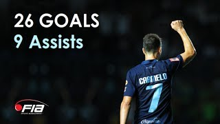 Carmelo González - 26 Goals & 9 Assists - Buriram United - 2013