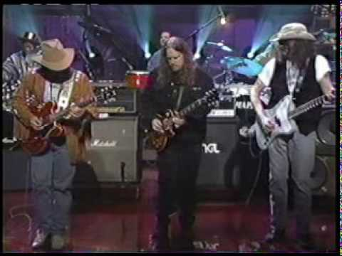 The Allman Brothers Band - Jessica - Live On Letterman - 29 Feb 1996