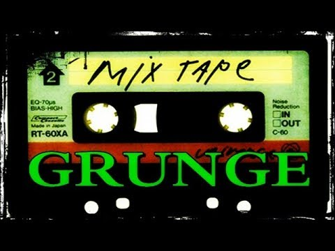 GRUNGE ROCK MIX TAPE - 2 HOURS NON-STOP! 2016