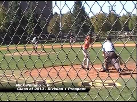 Nick Pullano - #14 Pitcher 2012 Portfolio