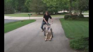 Super Trick Cycle (Swing Bike) Unicycle Joel Snavely