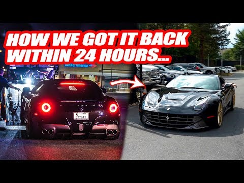 "RETRIEVING OUR ""STOLEN"" FERRARI! *UPDATE* MARYLAND COPS TICKET AND IMPOUND FERRARI!"