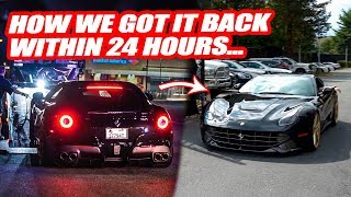 "RETRIEVING OUR ""STOLEN"" FERRARI! *UPDATE* CORRUPT MARYLAND COPS TICKET AND IMPOUND FERRARI!"