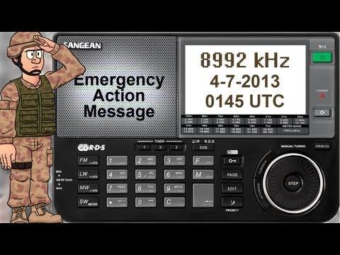 Coded Military Radio Traffic