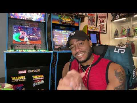 Marvel vs capcom Arcade1up Review from KingD302