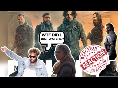 Dune Official Trailer 2020| Reaction!
