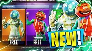 SKIN THAT WILL COME SOON IN FORTNITE BATTLE ROYALE!! (TOMATE, ASTRONAUTA PEZ)