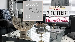 Pinterest Living Room Tour