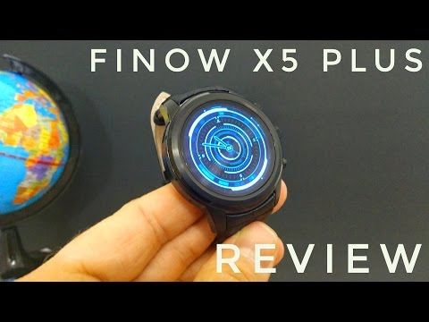 "FINOW X5 Plus 3G Smartwatch ⌚ REVIEW - 1.39"" Amoled Screen, Very Cool Smartwatch!"