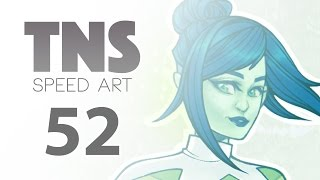 Speed Art 52 - Gemsona / Green Amethyst - Tuesday Night Sketch Series