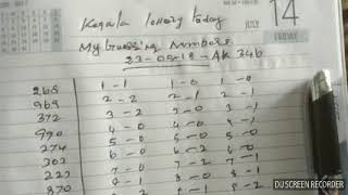 KERALA LOTTERY GUESSING NUMBERS TODAY 23-05-2018