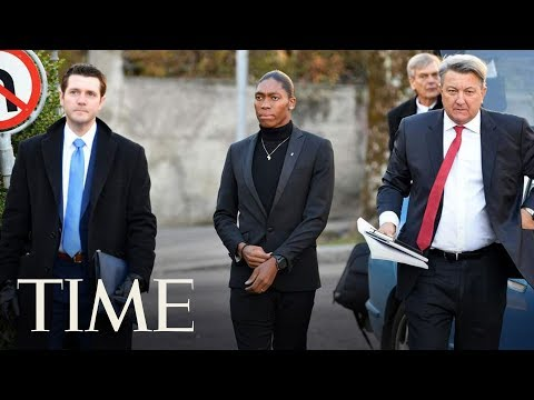 Olympic Champion Caster Semenya Arrives At The Court Of Arbitration For Sport | TIME