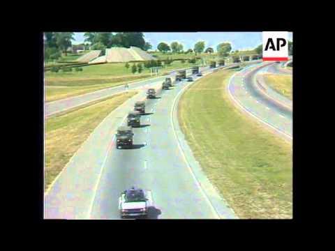 Lithuania - Arrival NATO Military Unit