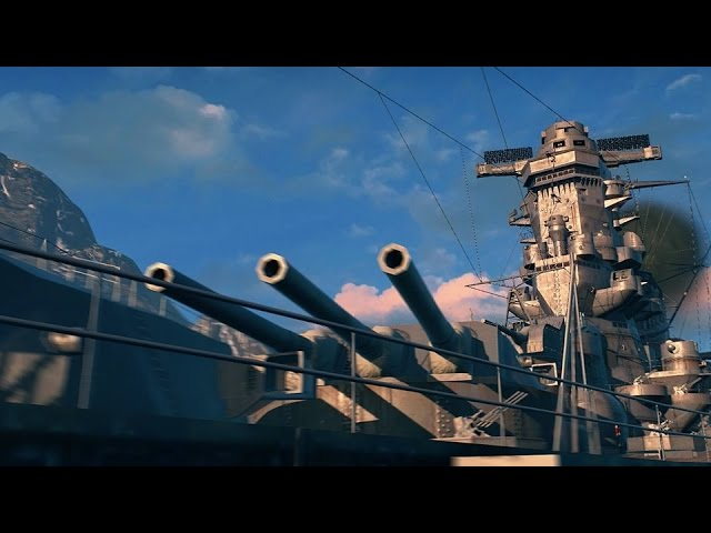 World of Warships: CBT Gameplay Trailer