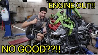 Is The ENGINE on my new AUDI RS4 SEIZED?!?!