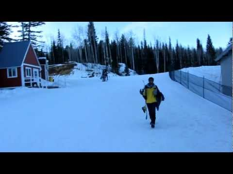 Skiing- Arun nd Sriram !!