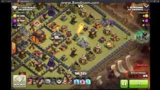 clash of clans best 3 attacks fly emirates