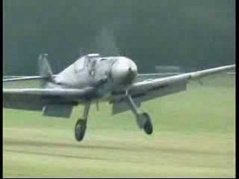 Messerschmitt BF 109G-6 (Take off/Flight/Landing)