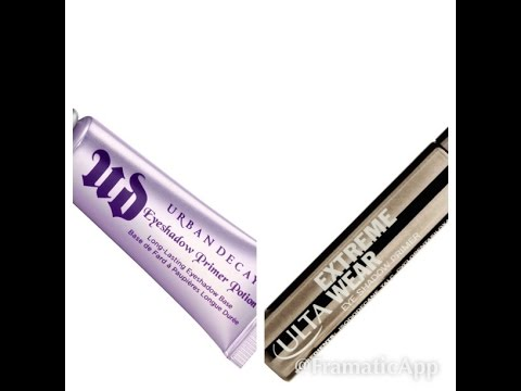 Urban Decay Vs Ulta eyeshadow primers