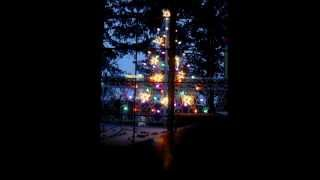2013 Virtual Two-dimensional Outdoor Christmas Tree