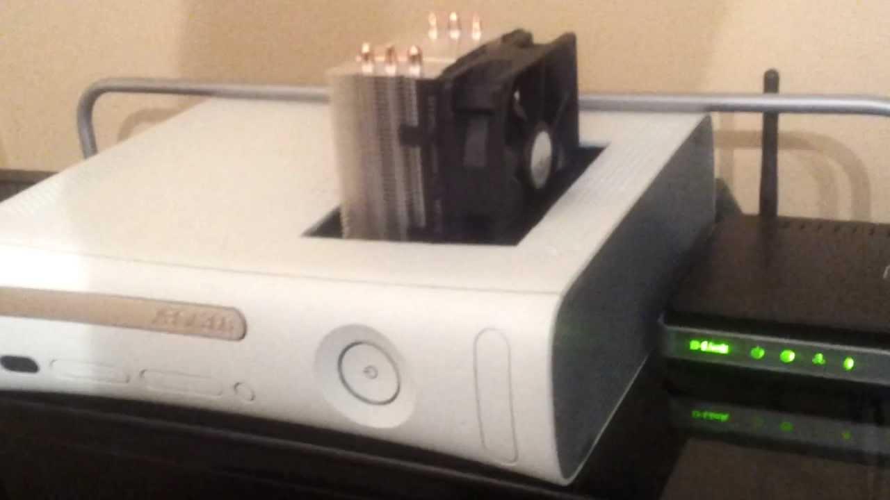 Xbox 360 2 0 Cpu Fan Mod CoolMaster TX3
