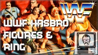 WWF Figures & Ring Hasbro Inspection | Nostalgia Nerd