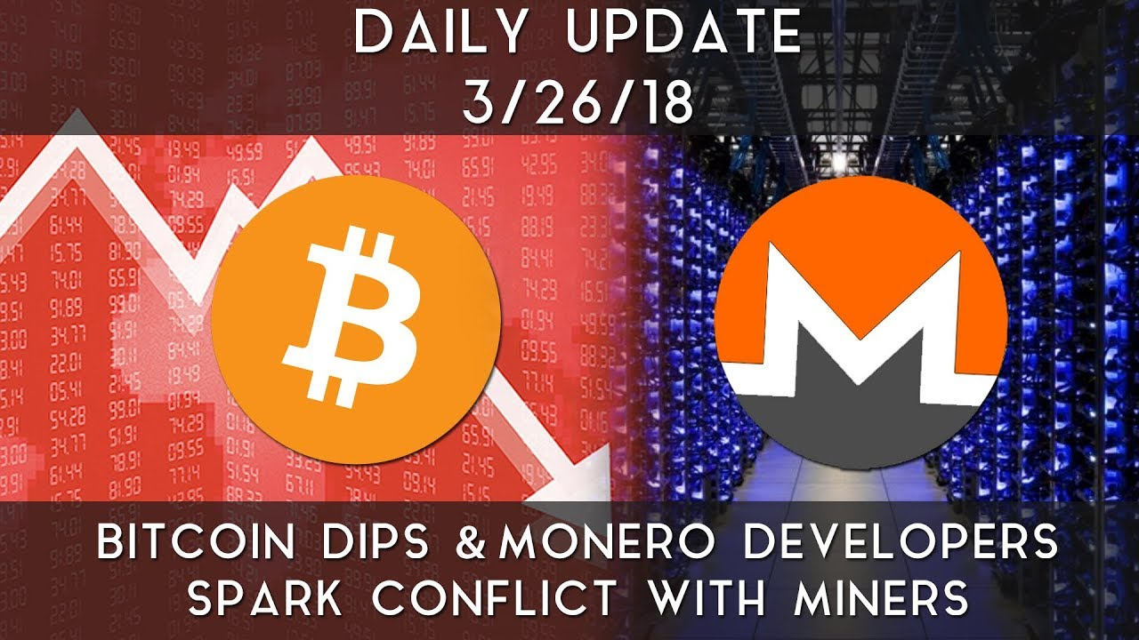 daily-update-3-26-2018-bitcoin-slips-lower-and-conflicts-hit-monero