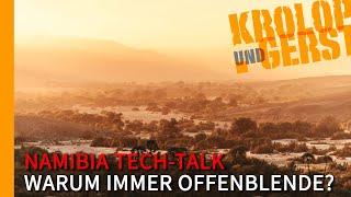 Dummheit?! Landschaftsfotografie mit offener Blende?! - Destination Namibia Tech-Talk 📷 Krolop&Gerst