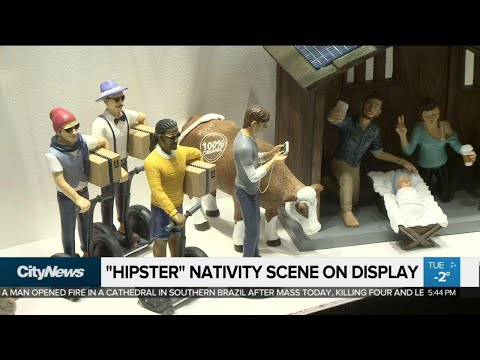 DC - Some are saying this 'Hipster' Nativity Scene Is Disrespectful