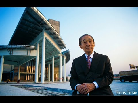 Kenzo Tange architect in Japan Japanology   丹下 健三