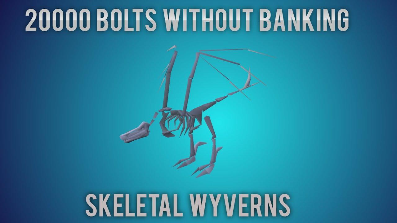 [OSRS] 20k Bolts Used At Skeletal Wyverns - Poor to Godswords - Ep  13