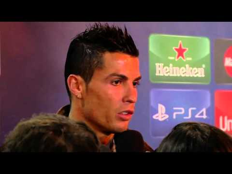 Cristiano Ronaldo on winking at Laurent Blanc & whether he will sign for PSG