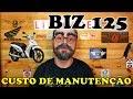 HONDA BIZ 125 CUSTO MÉDIO DE MANUTENÇÃO MENSAL E ANUAL - #17 #LIBERACER