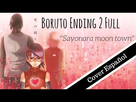 "[Boruto Ending 2] ""Misezao & Amaia - Sayonara Moon Town"" (Full Version Cover Español)"