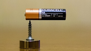 Magic Tricks With Magnets - Part 1 - Homopolar Motor