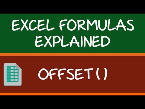 OFFSET Formula in Excel