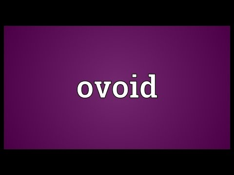 Ovoid Meaning