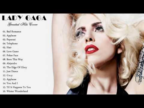 LADY GAGA Greatest Hits Cover 2016